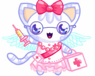 Nurse kitten chan dress up ingyenes j�t�k