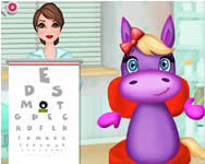 Rosy the pony eye care online j�t�k